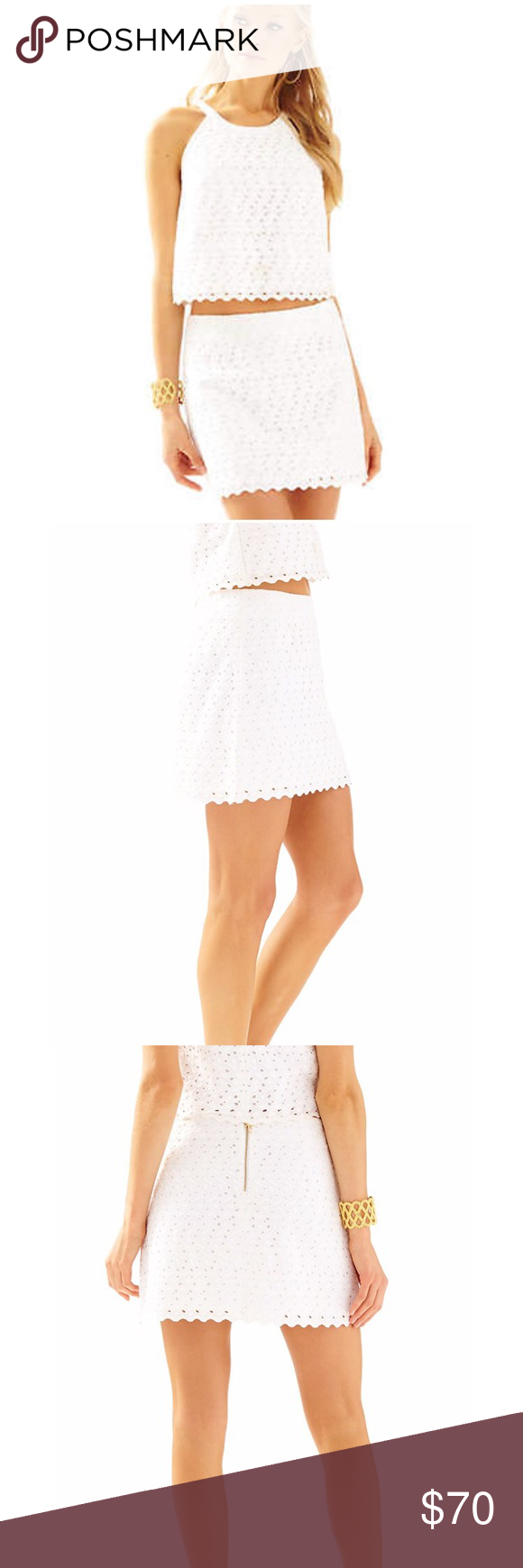 Lilly Pulitzer White Lace Eyelet Two Piece Set White Lace Lilly Pulitzer White Eyelet [ 1740 x 580 Pixel ]