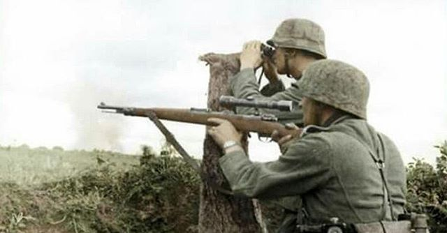 Image result for wwii sniper team