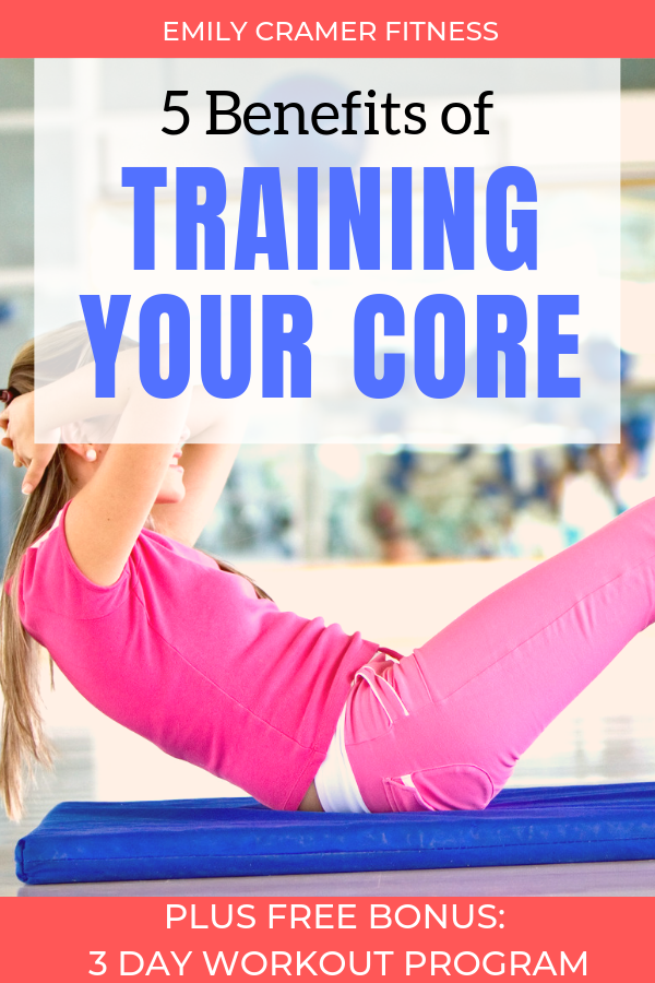 This post covers 5 key benefits of training your core. Core training does MORE than just create beau...