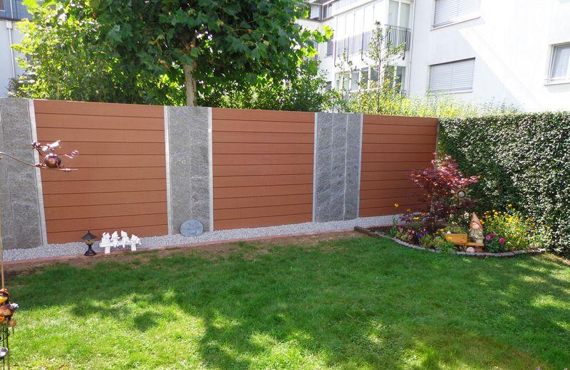 Unser Wpc Sichtschutz Mehr Nur Als Ein Zaun Larmschutz Garten Zaun Garten Zaun