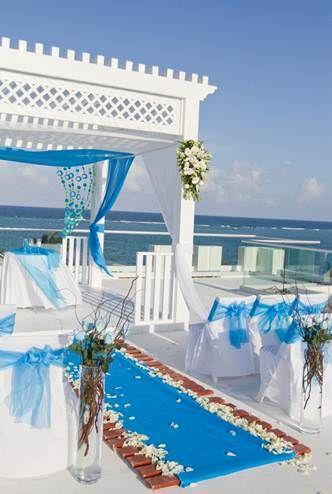 Azul Sensatori Riviera Maya Roof Top Wedding Location