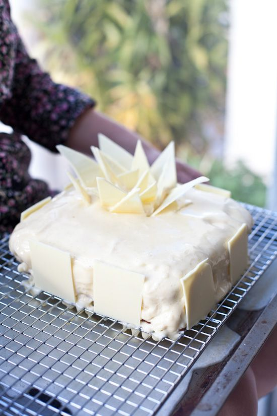 "One day I am going to take up this challenge! Adriano Zumbo ""V8 cake"" (8 layer vanilla cake)."