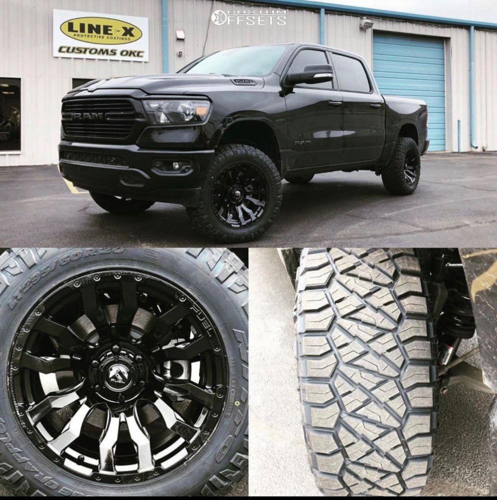 12 2020 1500 Ram Readylift Suspension Lift 35in Fuel Blitz Black Fuel Wheels Ram 1500 Dodge Trucks Lifted