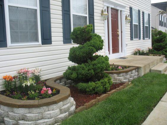 Jardineras en fachadas jardineras rusticas jardineras - Jardines exteriores de casas modernas ...