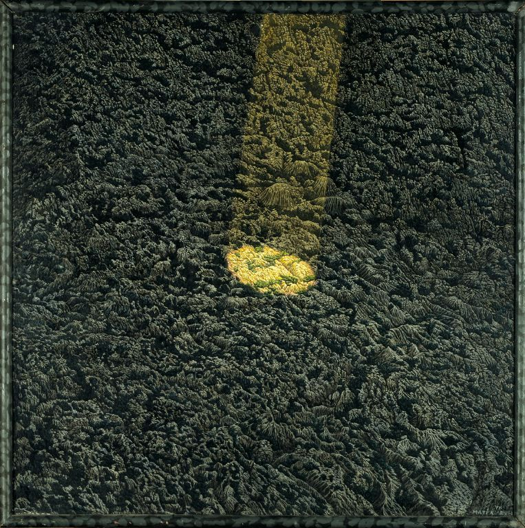 Real Estate (1978) Oil & tempera on canvas
