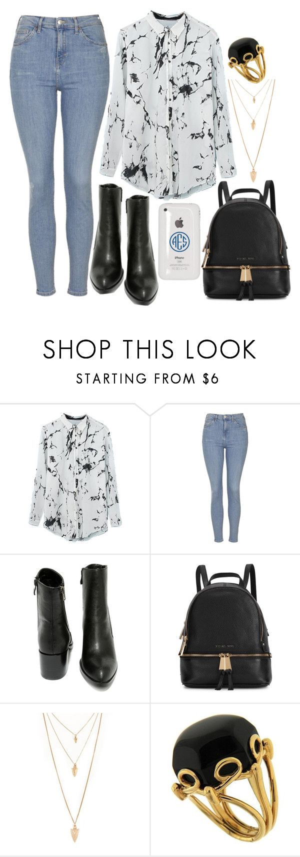 """Untitled #27"" by simplyjellybean ❤ liked on Polyvore featuring Topshop, Very Volatile, Michael Kors, Forever 21, Valentin Magro, women's clothing, women, female, woman and misses"