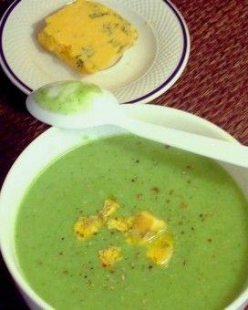 Velouté de brocolis au Stilton | Recipe | Food, Winter