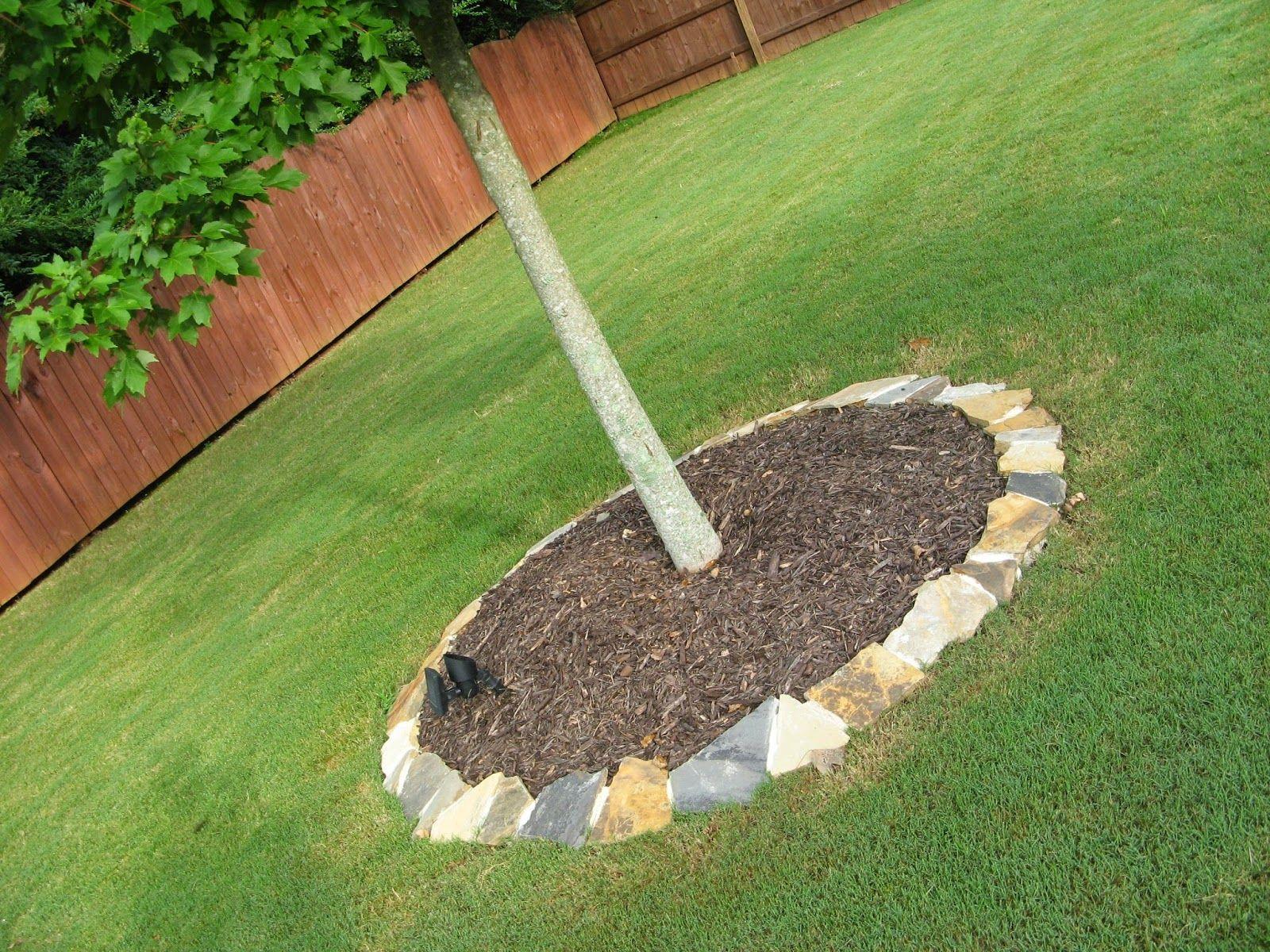 susan snyder diy stone landscape border 1 gardening pinterest