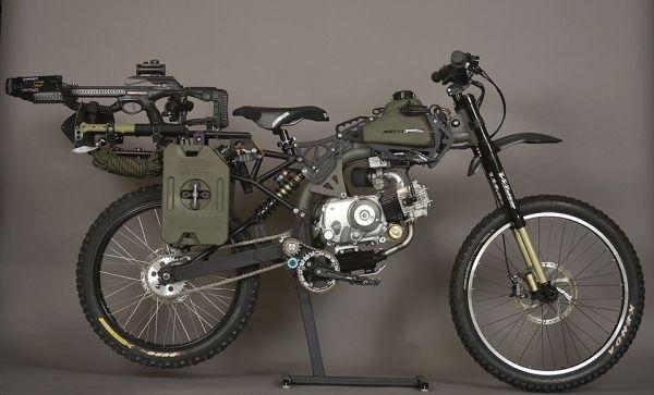 自転車だけどバイク Motoped に サバイバルエディション 登場 えん乗り モペット 緊急車両 サバイバル