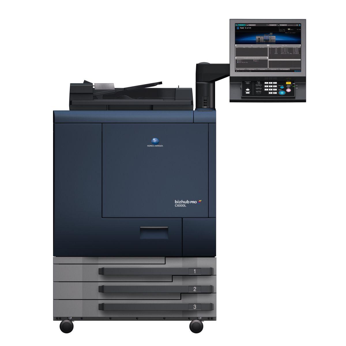 Konica Minolta Bizhub Pro C6000l Konica Minolta Printer Scanner