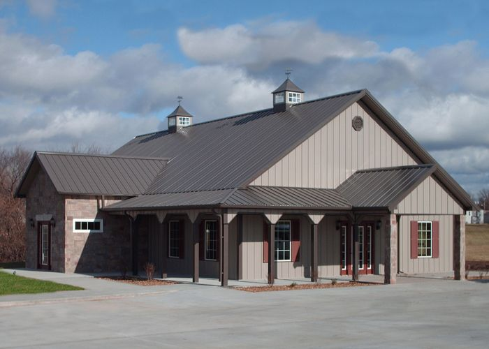 Small Office Building In Marshall Missouri Barn House Barn Plans Office Building