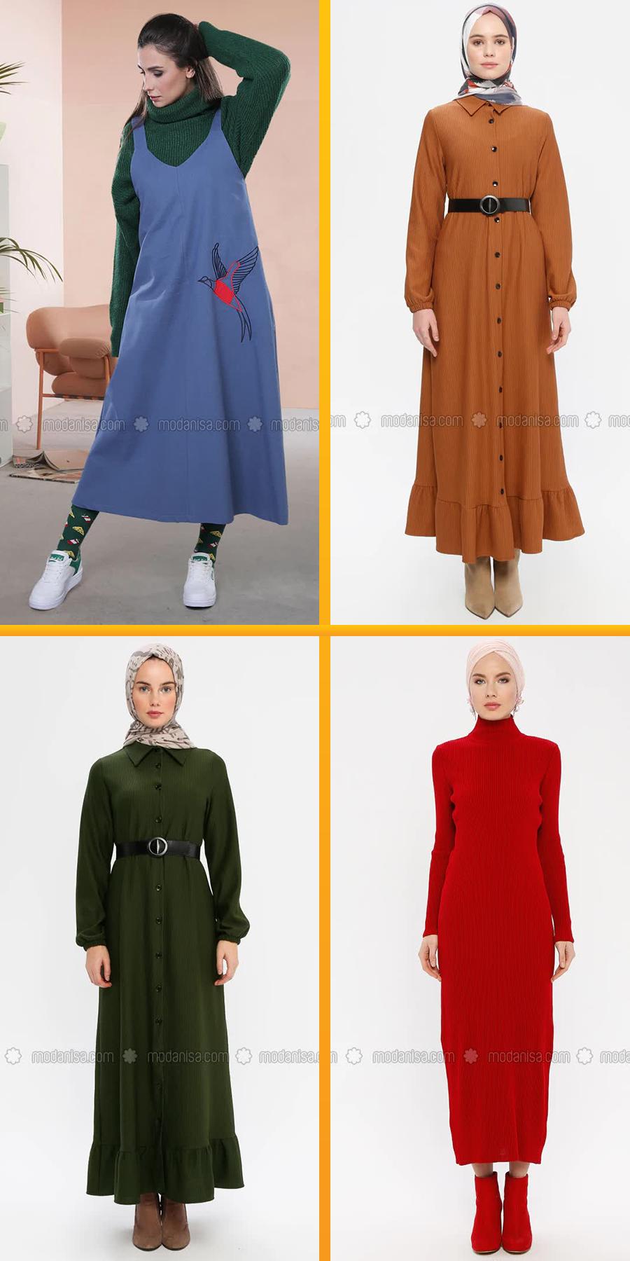 Modanisa 2020 Ilkbahar Yaz Tesettur Elbise Modelleri 3 2020 Elbise Modelleri Elbise Moda Stilleri