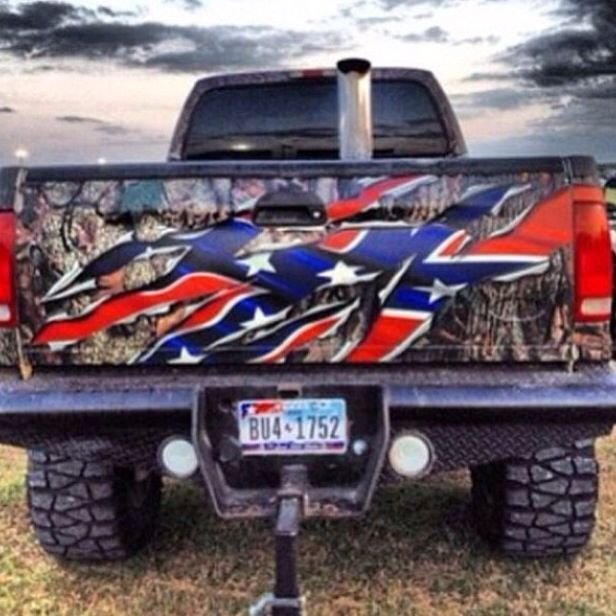 The Stack Looks Dumb But Other Than That Its Wicked Stuff For My - Badass decals for trucks