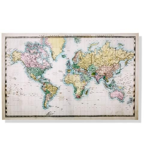 Canvas world map kmart my diy insperation pinterest canvas world map kmart gumiabroncs Choice Image
