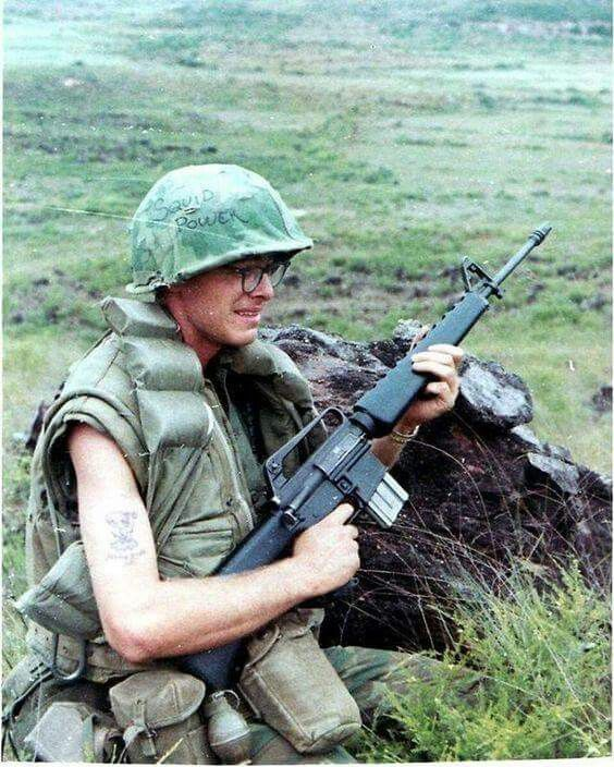 198th In Bde Private Trudging Truth A Creek Vietnam