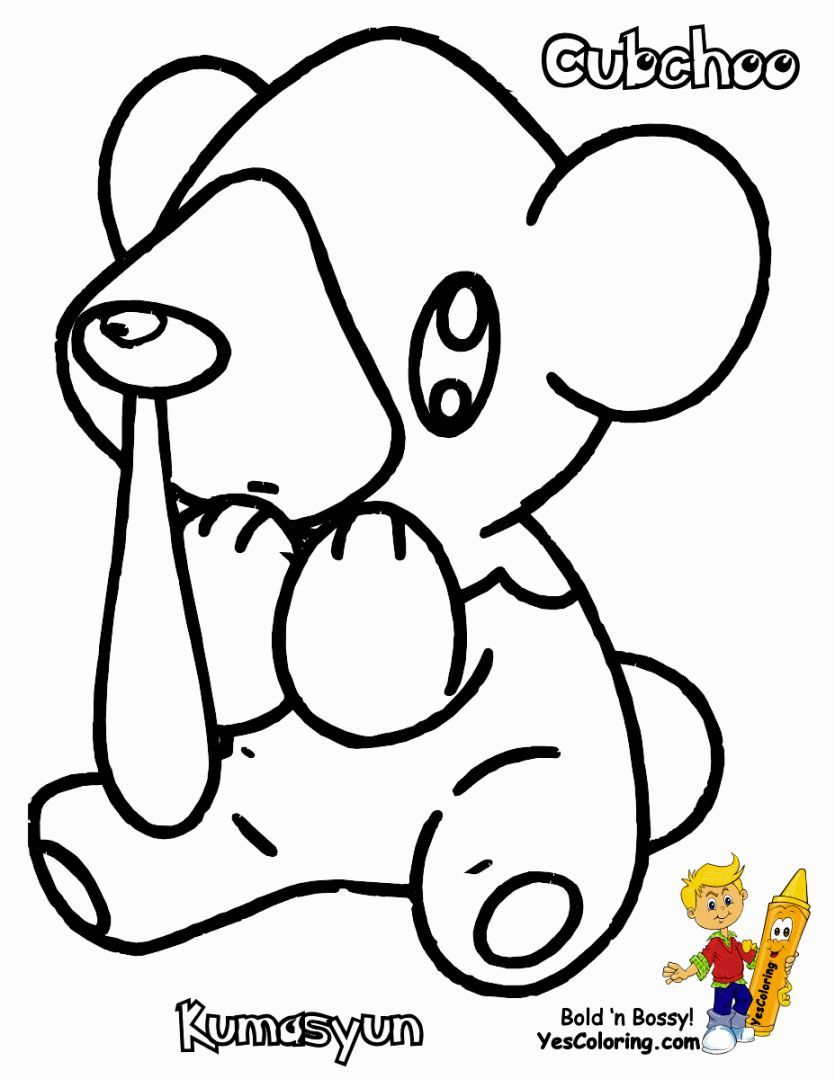Coloring Pages Pokemon Characters Coloring Pages Pokemon