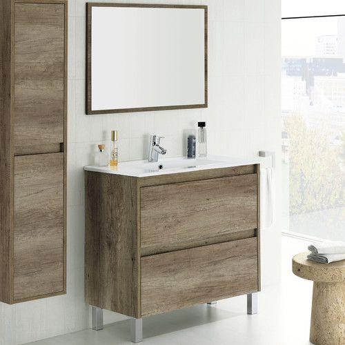 Dakota 80cm Vanity Unit With Mirror Vanity units, Vanities and - Repeindre Du Carrelage De Salle De Bain