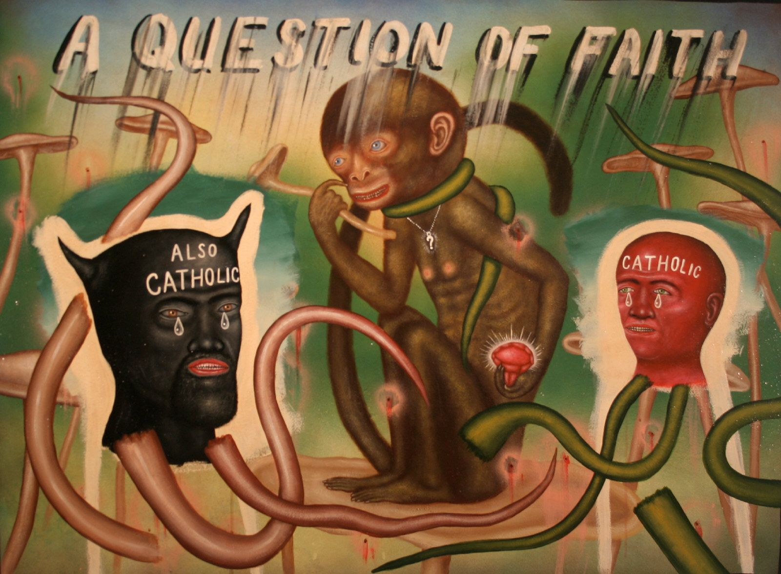 Artist: Fred STONEHOUSE, Title: A Question of Faith - click to close window