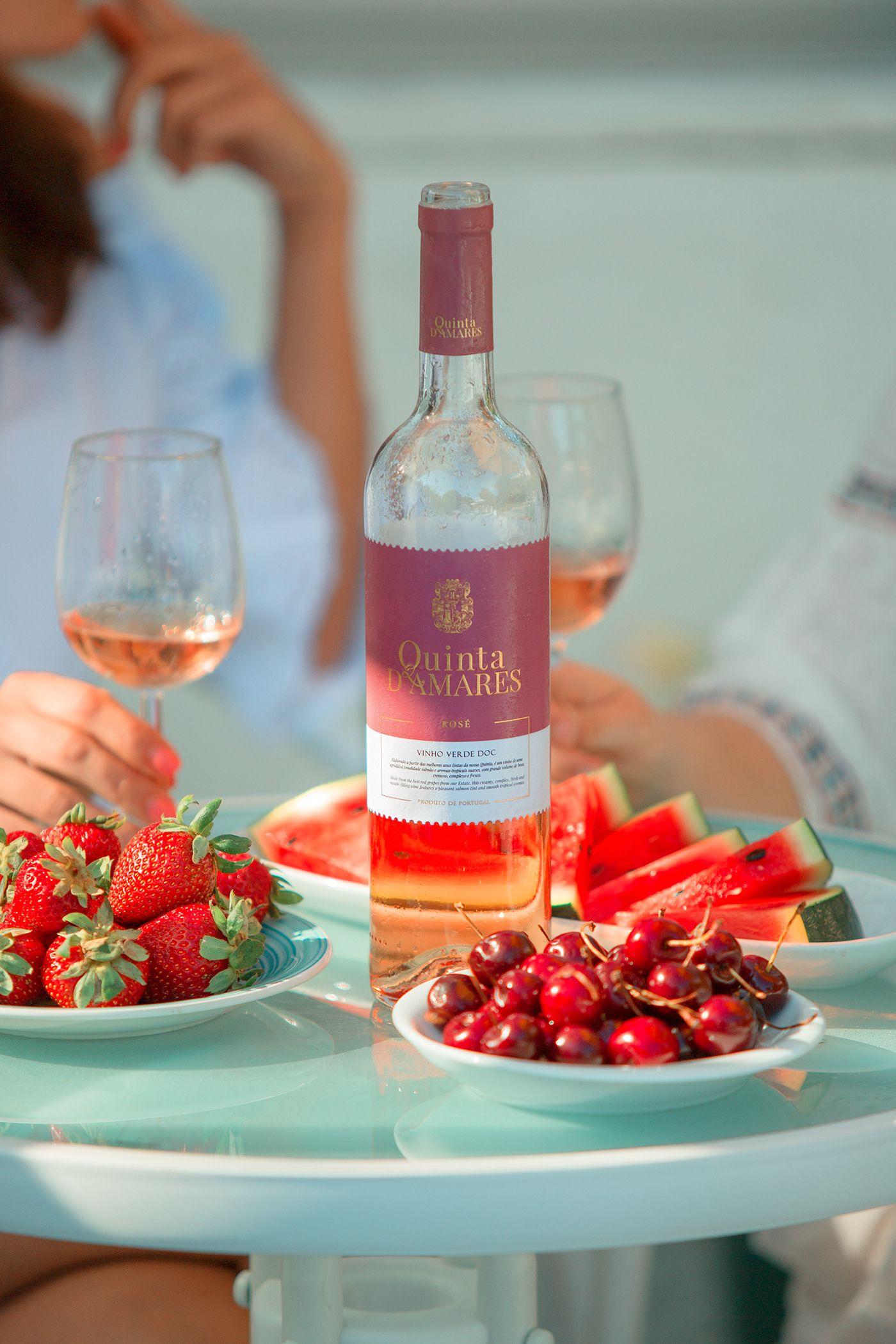 Quinta D Amares Wine Label Packaging Design On Behance Wine Label Packaging Wine Design Wine