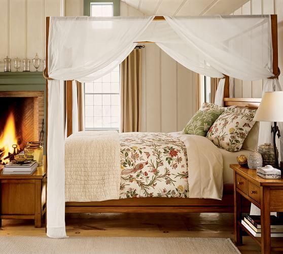 Sheer Canopy Drape Home Bedroom Themes Dreamy Bedrooms