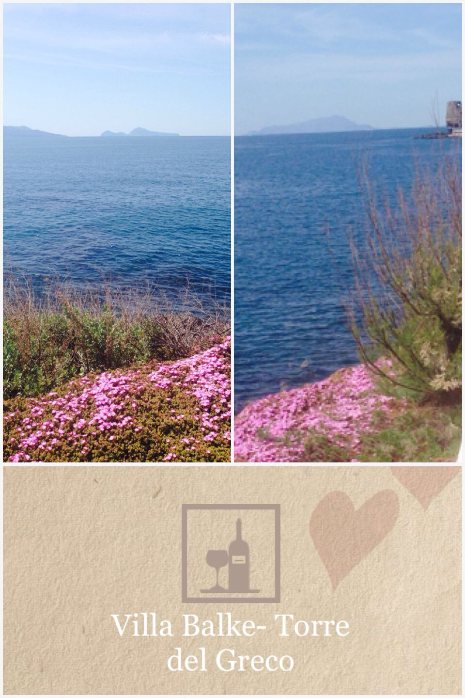 Bella vista... Villa Balke via Prota 42 Torre del Greco