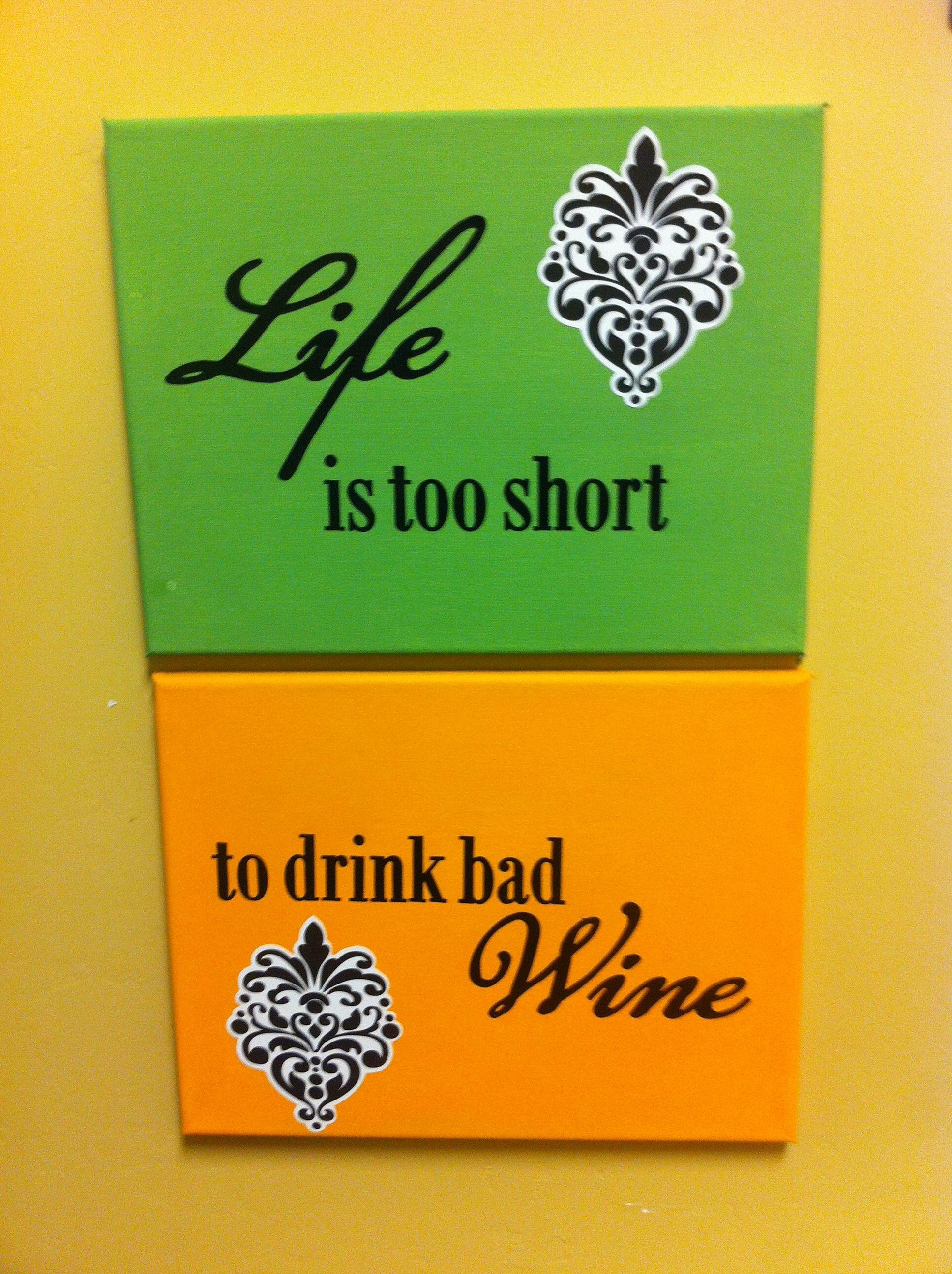 homemade kitchen decor wine themed frames.. | kitchen themes, wine decor kitchen, wine theme