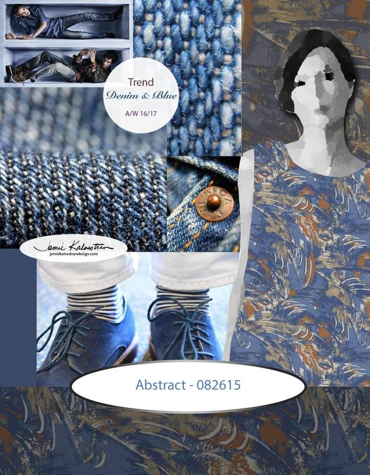 Image credits for background trend board, clockwise ...