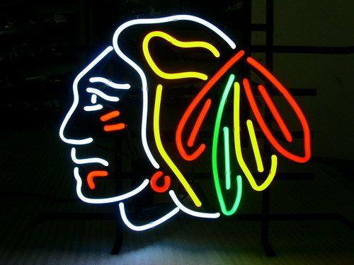 Wiki Neon Sign Blog Nhl Chicago Blackhawks Football Neon Light Chicago Blackhawks Nhl Chicago Chicago Blackhawks Hockey