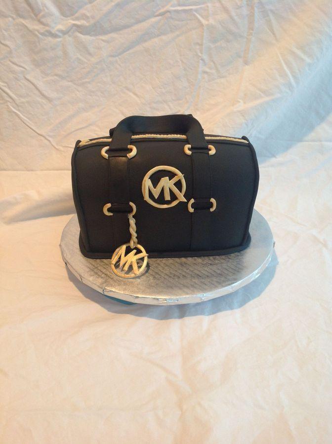 3eb276527 Michael Kors Cake   Pasteles   Bolos de bolsa, Bolo original, Bolo