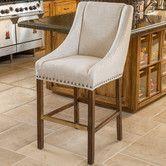Found it at Wayfair - Alameda Bar Stool with Cushion