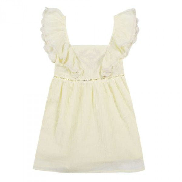 Robe Celine Jaune - Robes - Petite-fille - e-shop