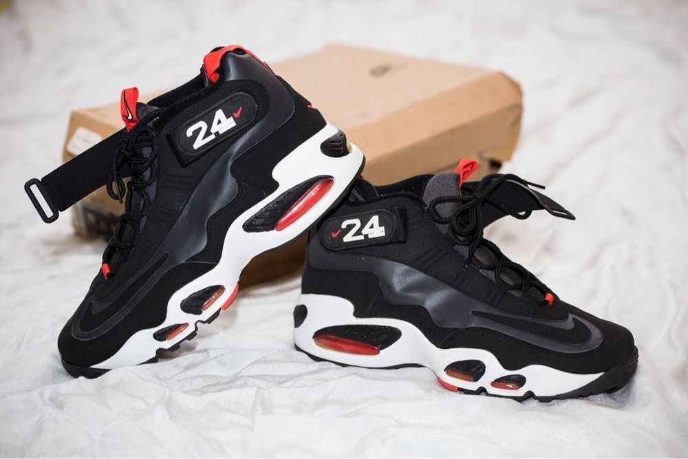 the latest 8b9fe 0d269 Nike Air Max Griffey Max 1 Anthracite Black-Red-White Mens Size 10  fashion   clothing  shoes  accessories  mensshoes  athleticshoes (ebay link)