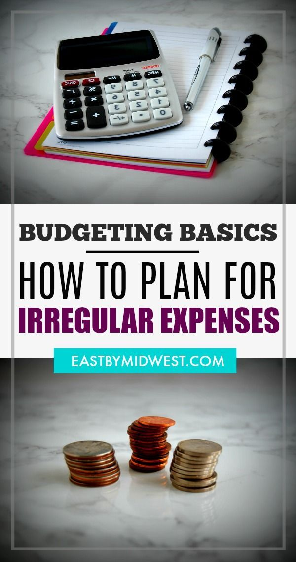 How to Stop Irregular Expenses from Derailing Your Budget ...
