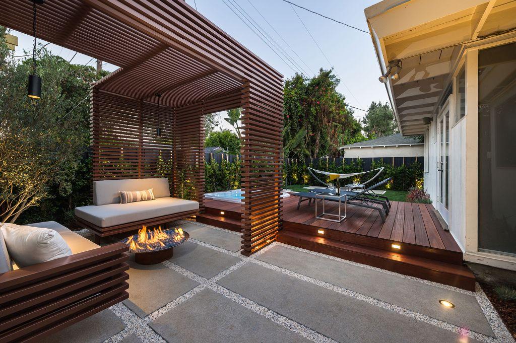 El Concepto De Una Terraza Es El De Ser Un Espacio Que Nos Permita Disfrutar Ya Sea De Un Paisaje O De Un Espacio Amplio Para Re Jardins De Casas Pergula