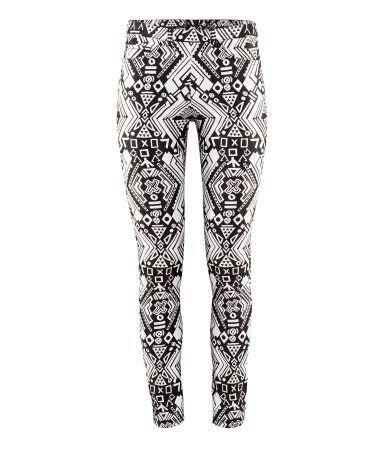 Product Detail H Us Black And White Pants Tribal Print Pants Clothes Design