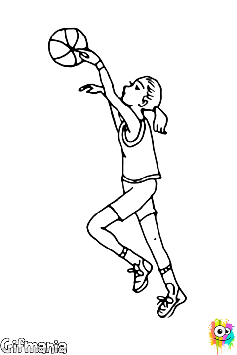 jugadora de baloncesto femenino #baloncesto #jugadora #canasta ...