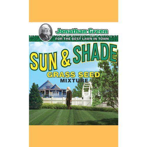 Jonathan Green 15 Sun Shade Grass Seed Mix By Jonathan Green 65 00 Package Width 13 Package Depth 25 P Grass Seed For Shade Grass Seed Green Lawn Care