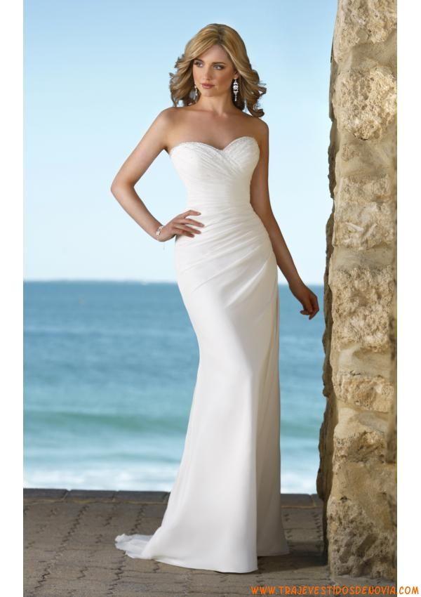 vestidos de novia sencillos - Buscar con Google | My Wedding ...
