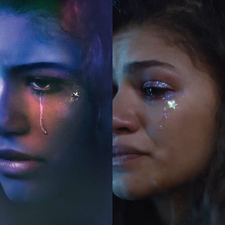 "All the""Euphoria"" Makeup Looks From Season One & What They Mean 