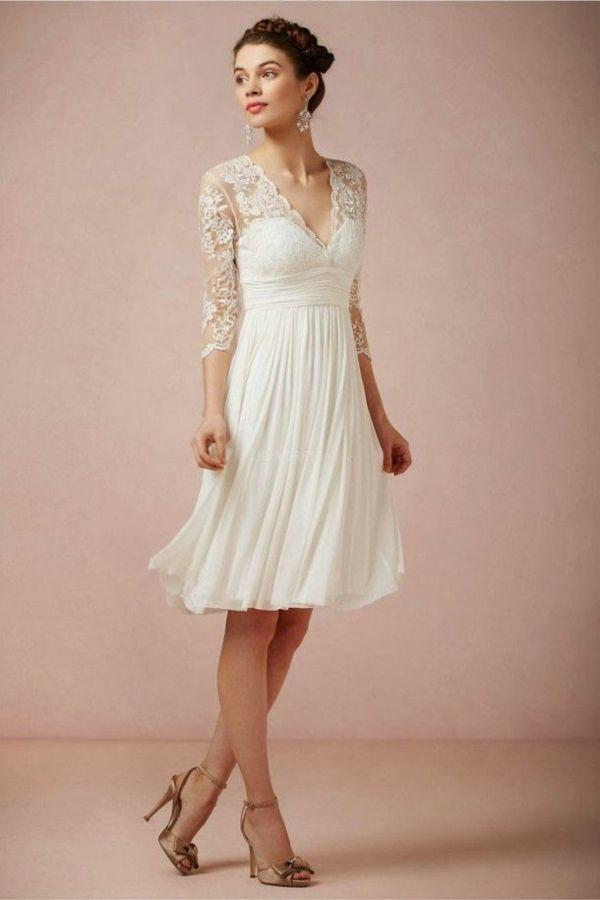 Standesamtkleid Schlichte Brautkleider Standesamt