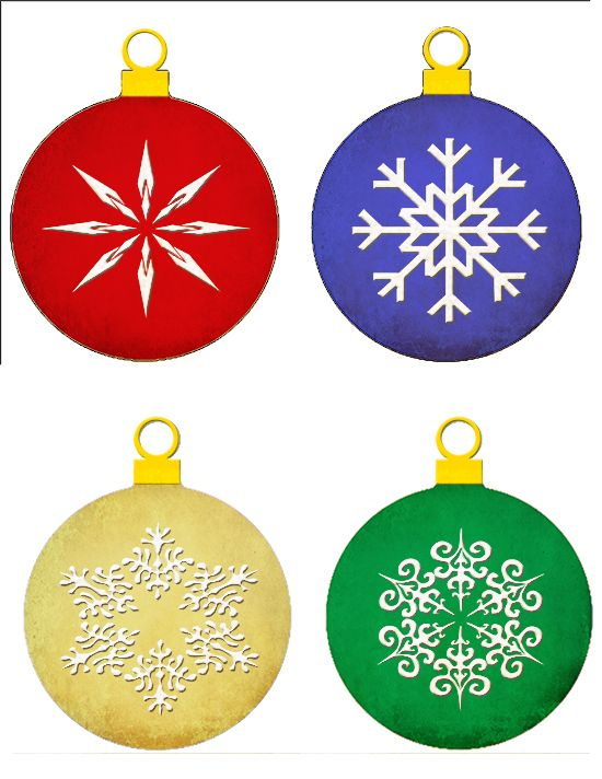Measured by the Heart: Printable Christmas ornaments - Measured By The Heart: Printable Christmas Ornaments Dreams Really