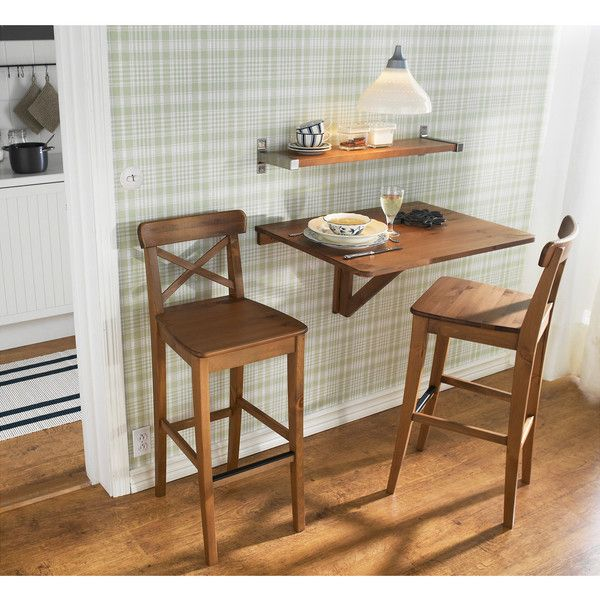 ikea ingolf bar stool with backrest antique stain 60