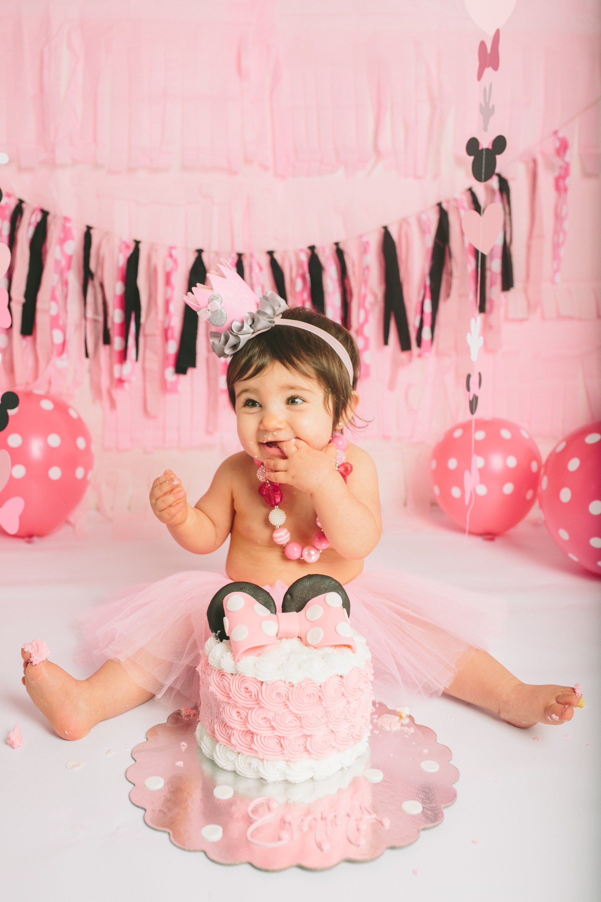 Minnie Mouse Cake Smash Outfit Uk