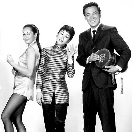Nancy Kwan, Nancy Umeki and James Shigeta, Flower Drum