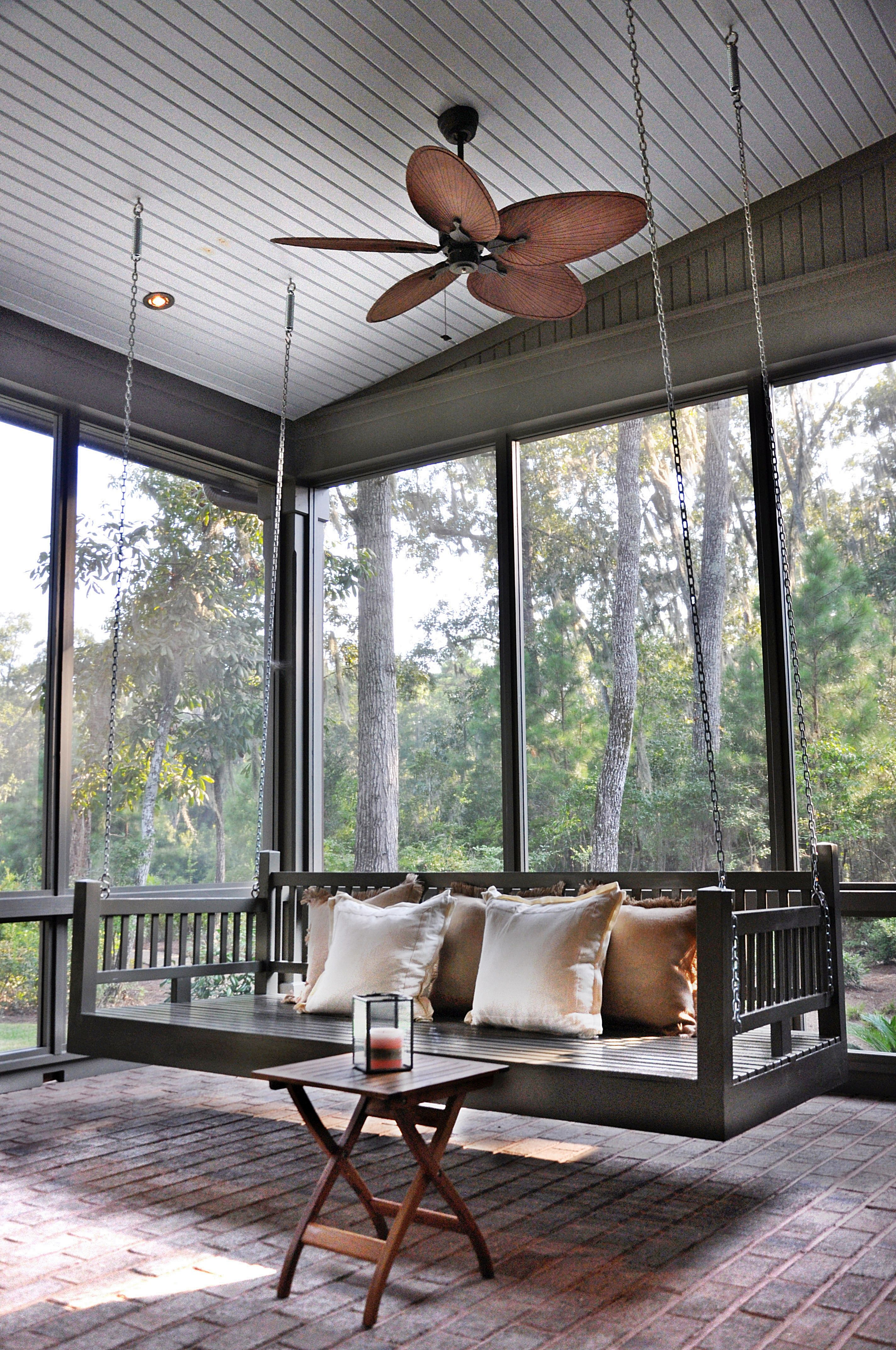 Custom home in palmetto bluff porch bed swings patio swing with also best our designed homes images on pinterest rh