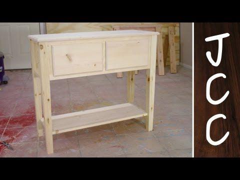 Kreg Jig Pocket Hole Sofa Table Furniture Diy