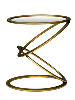 Mobius End Table by Interlude Home via Gilt