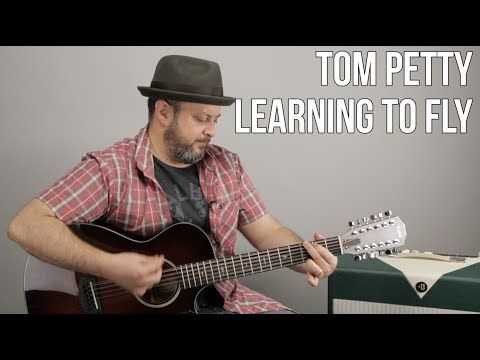 Tom Petty - Learning to Fly - Easy 4 Chord Acoustic Song - YouTube ...