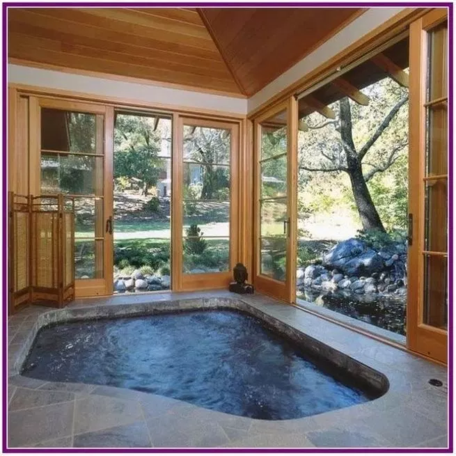 15 Awesome Hot Tub Design Ideas Info Virals Indoor Hot Tub Inground Hot Tub Hot Tub Room
