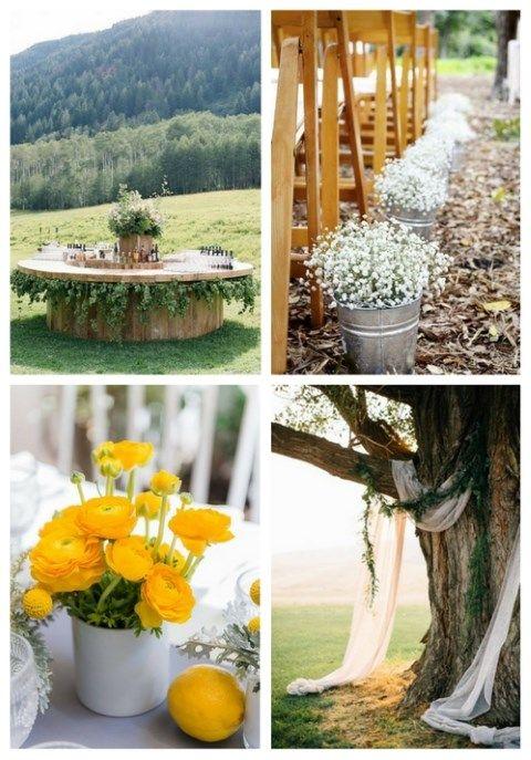 26 Simple And Cute Spring Backyard Wedding Ideas ...